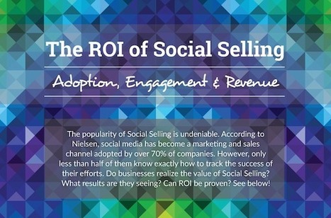 The ROI of Social Selling #INFOGRAPHIC | MarketingHits | Scoop.it