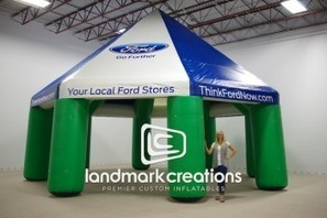 Ford 'Go Further' Inflatable Tent for Experiential Marketing Tours | experiential | Scoop.it