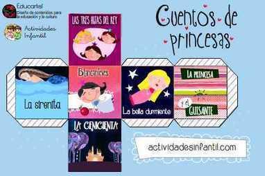 Los dados de los cuentos: Cuentos de Princesas » Actividades infantil | Recull diari | Scoop.it