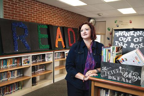 Meet Kristina Holzweiss, SLJ's 2015 School Librarian of the Year | School Librarian As Building Leader | Scoop.it