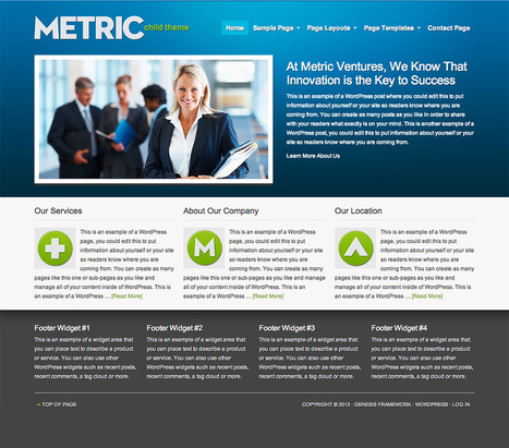 Metric Theme by StudioPress | PROYECTO CESA | Scoop.it