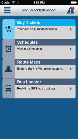 NY Waterway updates mobile ticketing app for easier purchasing | Mobile Marketing | Scoop.it