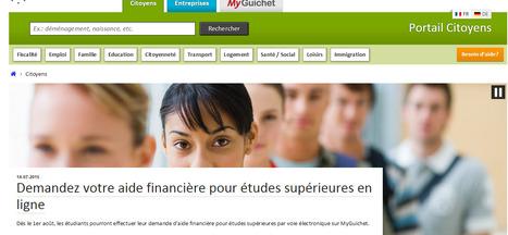 Demandez votre aide financière pour études supérieures en ligne | Luxembourg | CEDIES | EDUcation | ICT | Luxembourg (Europe) | Scoop.it
