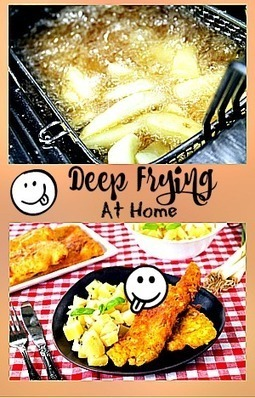 Deep Fat Frying At Home - What You Should Know • Home Kitchen Fryer | Home And Kitchen | Scoop.it