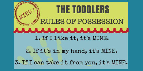 The Toddler Rules of Possession - Famlii | Parenting | Scoop.it