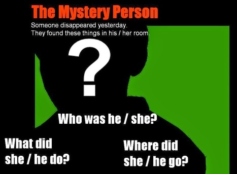 The EFL SMARTblog: The Mystery Person Game - Past Simple | PegasusELS | Scoop.it