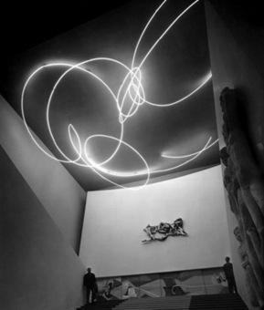 Lucio Fontana: Spatial Light | Art Installations, Sculpture, Contemporary Art | Scoop.it