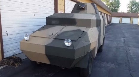 Airsoft assault vehicle! - One MEAN RIDE! - TAS801 on YouTube | Thumpy's 3D House of Airsoft™ @ Scoop.it | Scoop.it