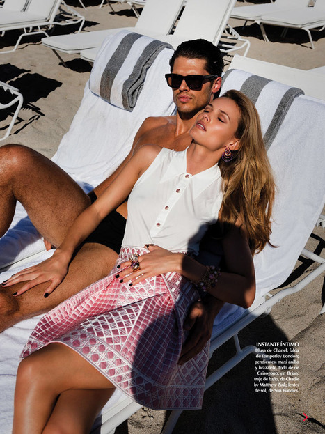 Brian Shimansky for Vogue Mexico March 2015 | Male Models | Scoop.it