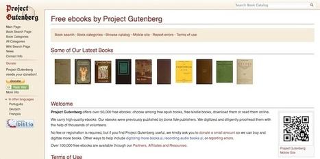 3 páginas para descargar clásicos de la literatura de forma completamente gratuita | Contenidos educativos digitales | Scoop.it