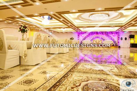 Pushp Aleela Theme Banquet Designed by Futomic Design Services Pvt. Ltd. | Interior Designing Services | Scoop.it