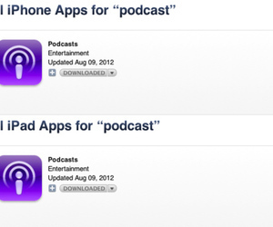 iTunes desktop app excluding third-party apps from 'podcasts' search | Podcasts | Scoop.it