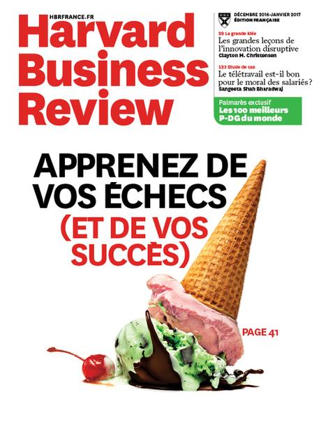 Harvard Business Review n°18 - déc. 2016-janv. 2017   Infothèque BBS Brest - L'actualité des revues   Scoop.it