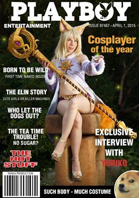 La cosplayeuse Yuriko fait la une de Playboy | Choose the Cosplay | Scoop.it