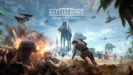 STAR WARS BATTLEFRONT, nouveau DLC Rogue One : Scarif [Actus Jeux Vidéo] - Freakin' Geek | Freakin' Geek | Scoop.it