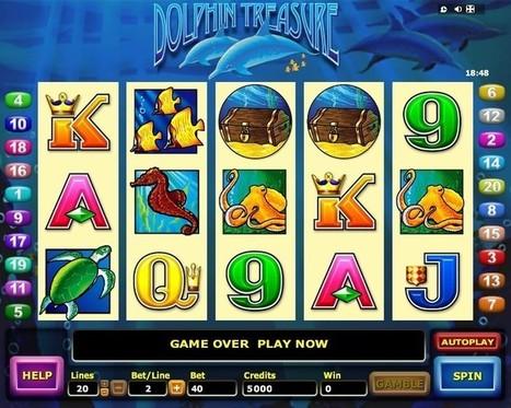 New Dolphin Treasure slot online | Online Slots | Scoop.it