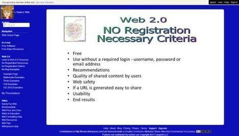 Gespot! L.Houle's Wiki – Webtools zonder registratie en nog veel meer..! « Manssen.nl ~ Vanaf de zijlijn | Web 2.0 tools: Mediawijsheid PO | Scoop.it