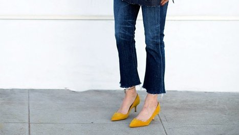 How To Wear Crop Flare Jeans If You're Short | Jeans Fashion | Scoop.it
