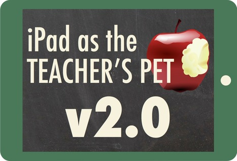 iPad as the Teacher's Pet - Version 2.0 by @TonyVincent | Apple nieuws voor basisscholen | Scoop.it