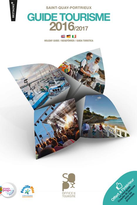 Le Guide tourisme 2016 – 2017 de Saint-Quay-Portrieux est disponible en ligne   So' Saint-Quay-Portrieux   Scoop.it