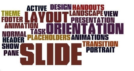 Using Wordle in PowerPoint 2010 Presentations | Digital Presentations in Education | Scoop.it