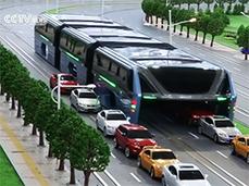 La Chine invente le bus anti-embouteillage - CNET France | Développement durable, généralité et curiosité | Scoop.it