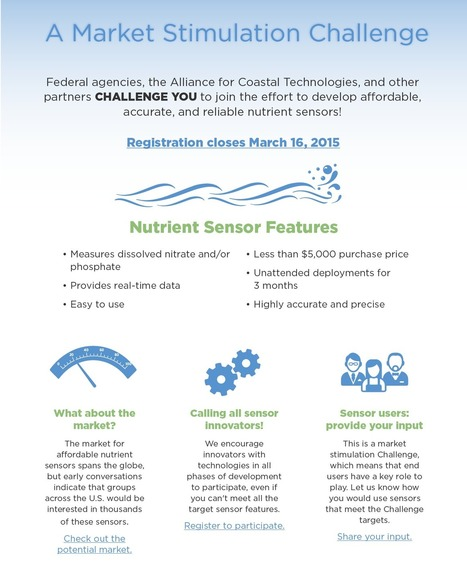 Alliance for Coastal Technologies - Nutrient Sensor Challenge | Open Science and Technology Resources | Scoop.it