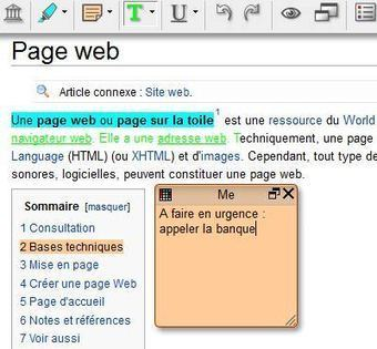 Annoter une page web et la partager - Bookmarklet Scrible | Managing options | Scoop.it