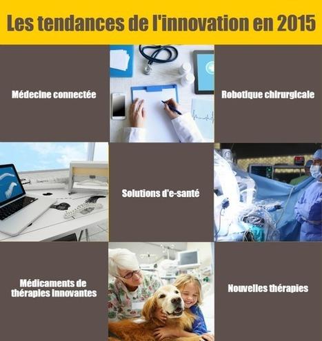 Santé : les tendances de l'innovation en 2015 | Bpifrance servir l'avenir | Buzz e-sante | Scoop.it