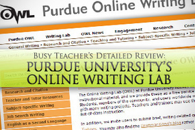 Purdue University's Online Writing Lab: BusyTeacher's Detailed Review | ELT - Pragmatic English | Scoop.it