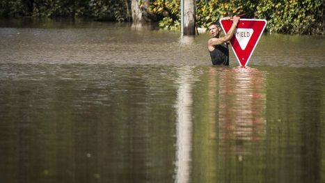 North Carolina flooding is so severe that rescuers need sonar to locate cars, victims | Sustain Our Earth | Scoop.it