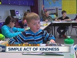 8 y.o. helps pay off students' school lunch debt | Acts of Kindness | Scoop.it