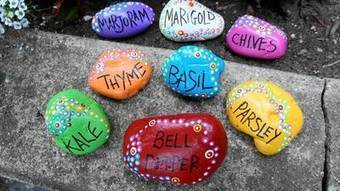 These Plant Markers are Written in Stone | School Gardening Resources | Scoop.it
