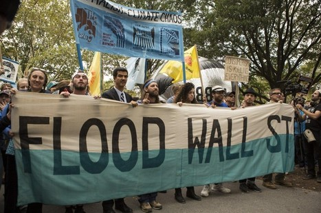 More Than 100 Arrested As Climate Change Activists #FloodWallStreet | Climate Chaos News | Scoop.it