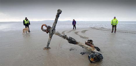 Wales' skeleton coast reveals another victim of centuries of shipwrecks   DiverSync   Scoop.it