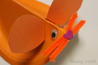 Reading Confetti: Paper Plate Mouse: Virtual Book Club for Kids | Trabalhos Manuais no Jardim de Infância | Scoop.it