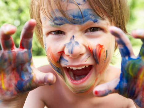 Crafts: 7 fun ideas for painting outside - Today's Parent | ♨ Family & Food ♨ | Scoop.it