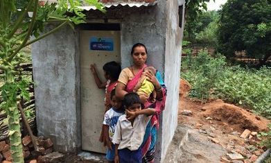 """Unilever initiative helps 25 million people gain toilet access by 2020 (""""more phones than toilets"""") 