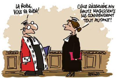 Les hommes boudent la magistrature   Fonction publique, droit, justice, défense, sécurité   Scoop.it