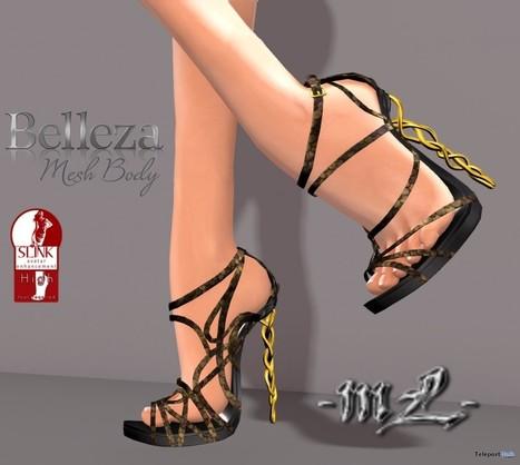 Imelda Heels for Slink & Belleza Venus Group Gift by monaLISA | Teleport Hub - Second Life Freebies | Second Life Freebies | Scoop.it