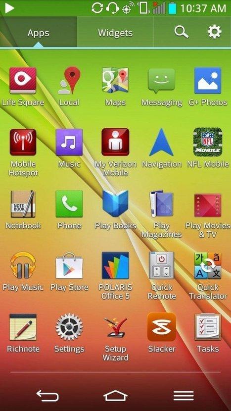 Lg смартфон как сделать скриншот экрана на