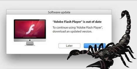 Fake Flash Player Update INFECTS Macs with Scareware | Machines Pensantes | Scoop.it