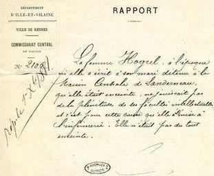 Les Jeudis des Archives - paléographie - Archives de Rennes   Rhit Genealogie   Scoop.it