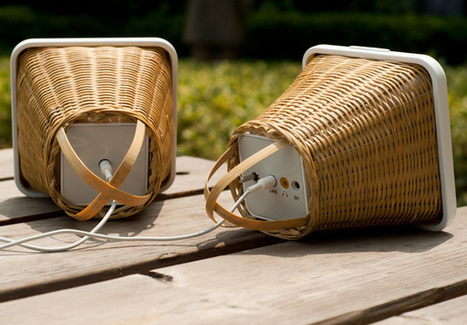 Bambory Speakers by Guo Yang » Yanko Design | Le flux d'Infogreen.lu | Scoop.it