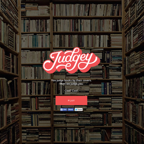 Judgey: Web game that lets you judge a book by its cover | Books, Photo, Video and Film | Scoop.it