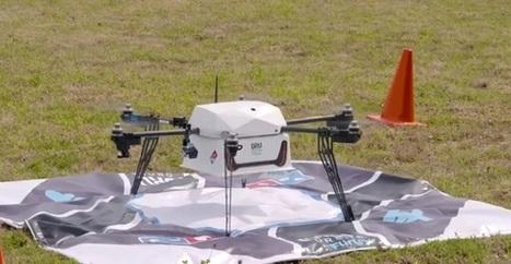 Domino's Robotic Unit: première livraison commerciale par drone | Actualité Aéromodélisme | Scoop.it