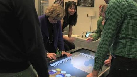 Video: Interactive Tables: Hands-On Learning in School Just Got Very Real | ASU Block I | Scoop.it