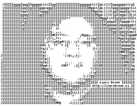 ASCII Art Business Card | ASCII Artist | ASCII Art | Scoop.it