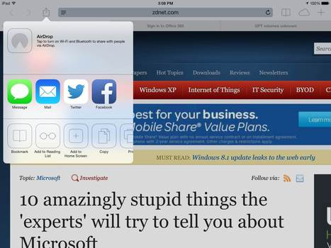 iPad at Work: The Essential Guide for Business Users 2014 | ZDNet | Educational Technology - Yeshiva Edition | Scoop.it