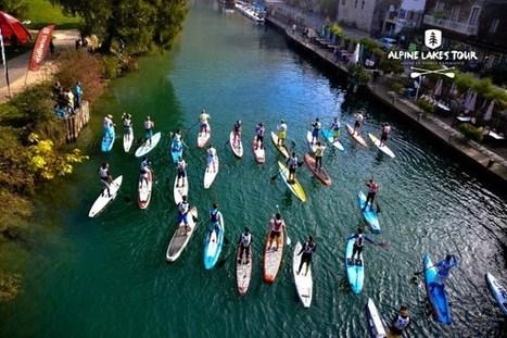 Ouverture des inscriptions Alpine Lakes Tour canal de Savière et lac du Bourget | Stand up paddle | Scoop.it